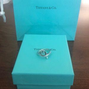 Tiffany & Co loving heart ring